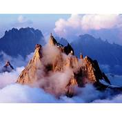 Travel Trip Journey Aiguille Du Midi Alpine Midday Peak