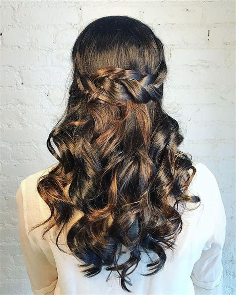 partial updo with braids best 25 partial updo ideas on pinterest half up half