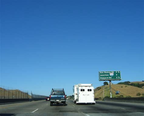 Alameda County Search California Aaroads Interstate 580 East Alameda County 2