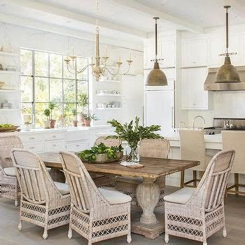 dining table and wicker chairs 25 best ideas about wicker dining chairs on