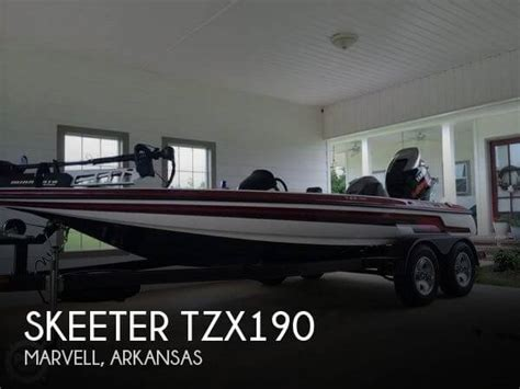 skeeter bass boats for sale in arkansas sold skeeter tzx190 boat in marvell ar 114309