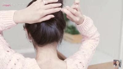 cara mudah cepol rambut ala korea cara menata gaya rambut cepol ala korea agar tak