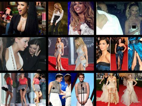 2014 celebrity wardrobe malfunctions photos of celeb embarrassing celebrity wardrobe malfunctions of 2014