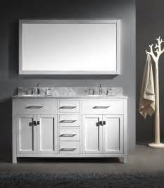 60 woodbridge double sink vanity in white features pictures to pin on