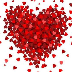Amazon Red Rugs Small Hearts Big Heart Photo Backdrop Pepperlu