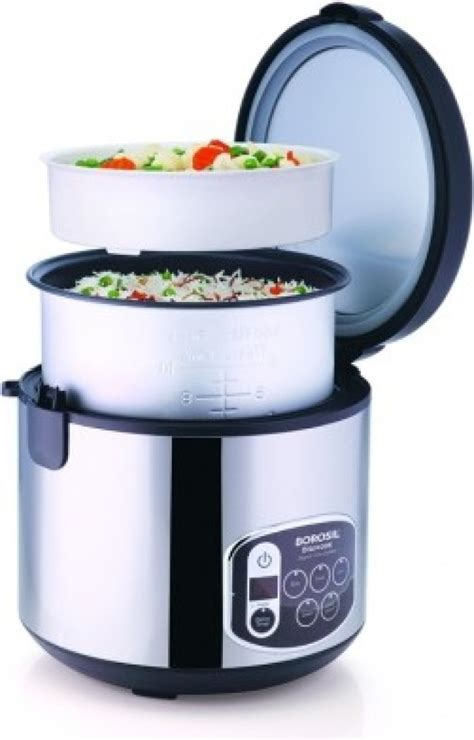 induction cookers flipkart borosil digikook electric rice cooker and steamer 1800ml 1 8 l available at flipkart for rs 3800