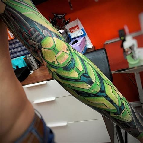55 best photo patterns of biomechanical tattoos