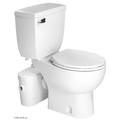 saniflo saniaccess2 upflush toilet kit w macerator