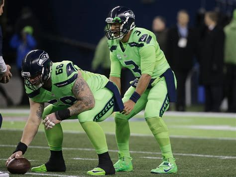 what are the seahawks colors the seattle seahawks are wearing the craziest nfl color
