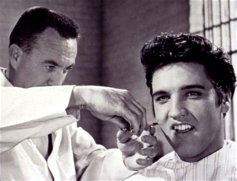 whats a barbers cut hairstyle look like elvis presley s hair will be auctioned off for estimated