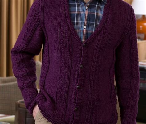 free mens cable knit sweater patterns s v neck cable cardigan free knitting pattern