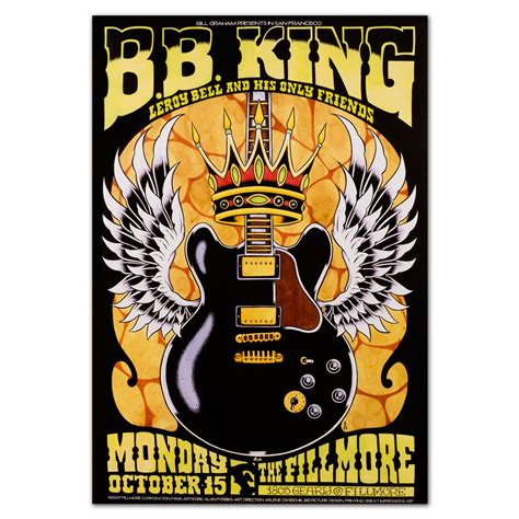 bb king house fillmore bb king 10 15 2007 poster shop the house of