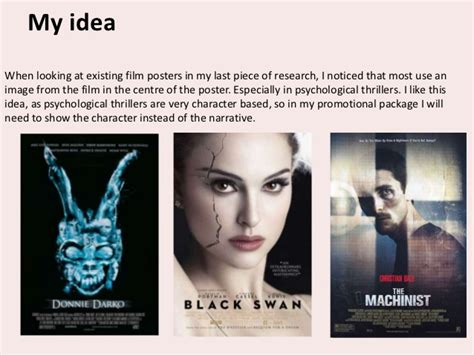 film psychological thriller terbaik creating my own film poster