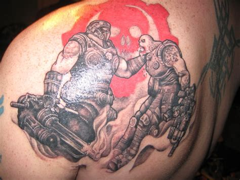 gears tattoo gears of war carmine www pixshark images