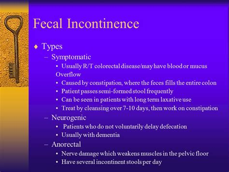 What Is Incontinence Of Stool by Incontinence Urinary And Fecal Ppt