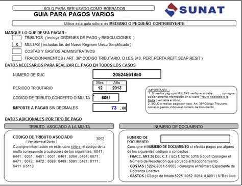 multa por no pagar pdt 621 multa por no retener renta de quinta categoria contabilidad