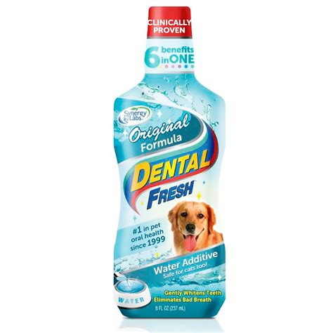 water additive for dogs dental fresh 174 original formula water additive for dogs 8 fl oz healthypets