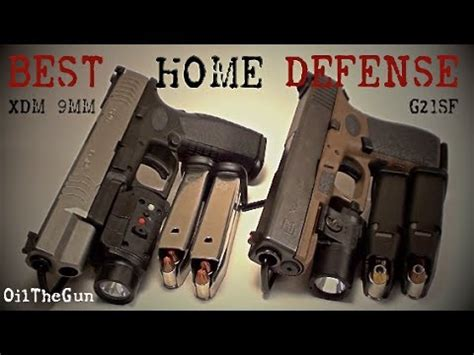 best home defense gun s glock 21sf and xdm 9mm