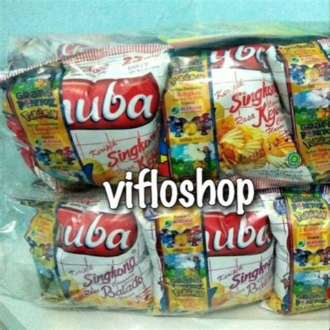 keripik singkong chuba balado keju krikong corn chips