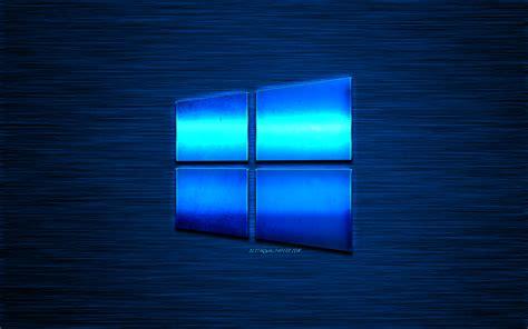 indir duvar kagidi  windows mavi metalik logo yaratici