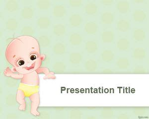 free baby shower powerpoint template