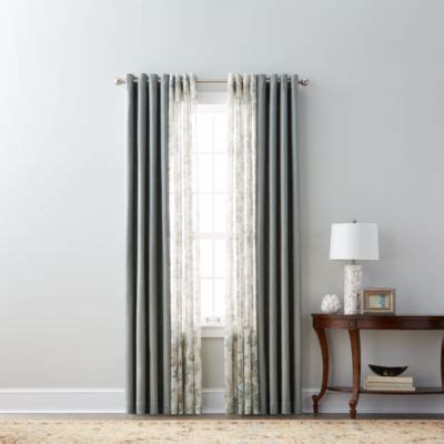 jcpenney curtains grommet jcpenney home pembroke grommet top curtain panel jcpenney