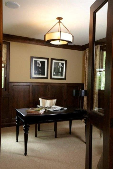 Brown Wainscoting by The Best Neutral Paint Colours To Update Wood Trim