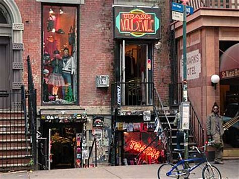 village tattoo nyc new york ny trash and vaudeville stores 4 st mark s place east