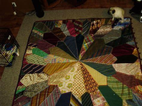 my mommas necktie quilt