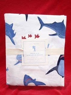 Shark Crib Sheets by Baby Rooms On Shabby Chic Nurseries Pottery