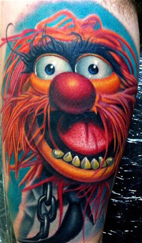 tattoo animal muppets 395 best new school images on pinterest tatoos tattoo
