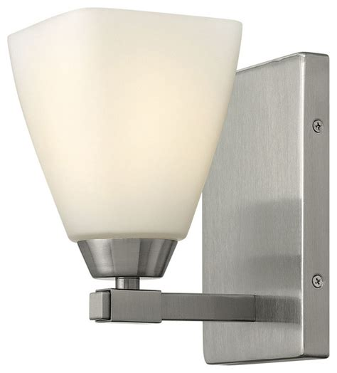 single bathroom light fixtures hinkley lighting single light bathroom vanity fixture contemporary bathroom vanity lighting