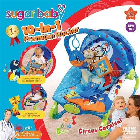 Bouncer 10in1 jual beli bouncer sugar baby 10in1 premium rocker circus