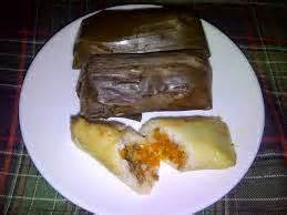 aneka kue mamah wie  lontong isi kentang wortel