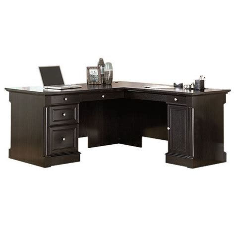 sauder l shaped desk sauder avenue eight l shaped desk 417714 desks l