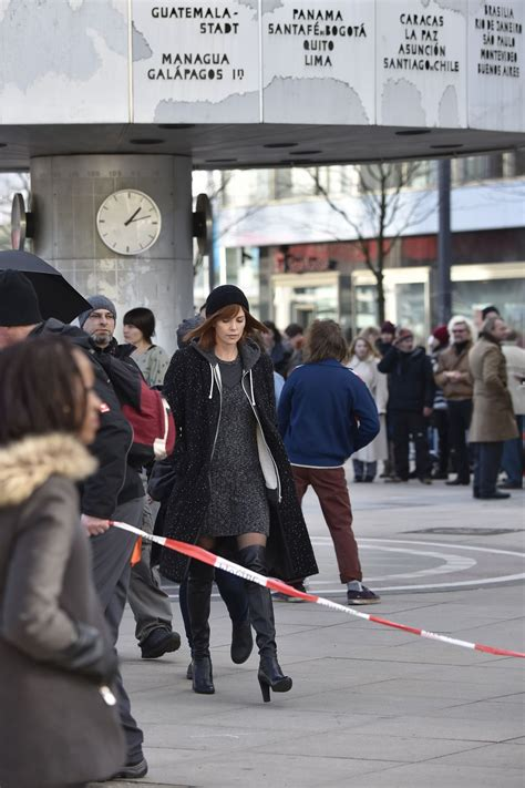 Atomic The Coldest City charlize theron on the set of the coldest city in berlin