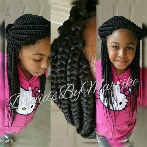 Braided Hairstyles For Black Ages 5 7 by Braids For 12 Year Olds Pictures To Pin On