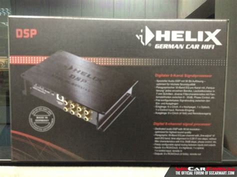 Processor Helix Dsp 2 By Speakerku helix dsp digital signal processor for sale mcf marketplace