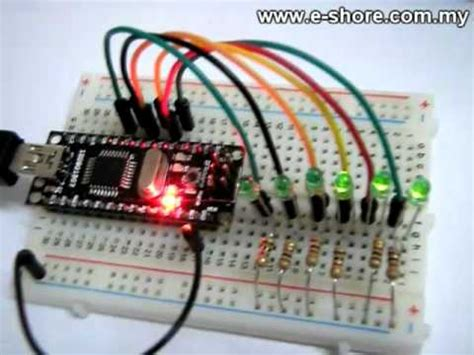 led blinking  arduino nano youtube