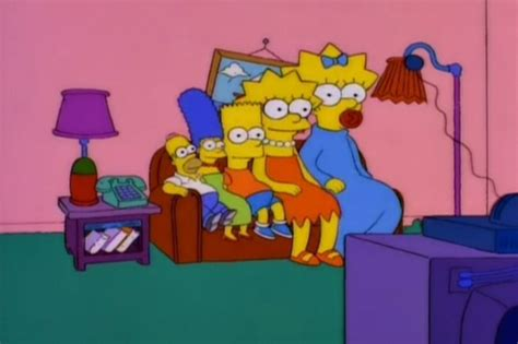 the simpsons couch gags inverted family couch gag simpsons wiki