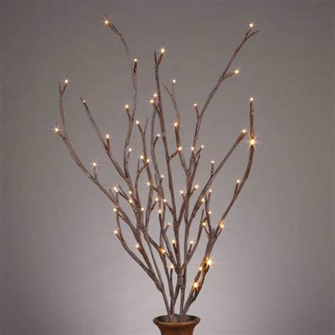 gerson 37930 39 quot electric brown wrapped branches 2