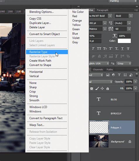 cara membuat logo teks di photoshop cara membuat hipster logo sederhana di photoshop byrocuy