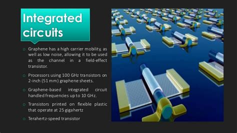 integrated circuit in graphene graphene ppt
