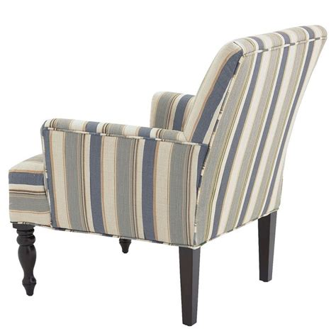 armchair striped liliana surf blue striped armchair goodglance