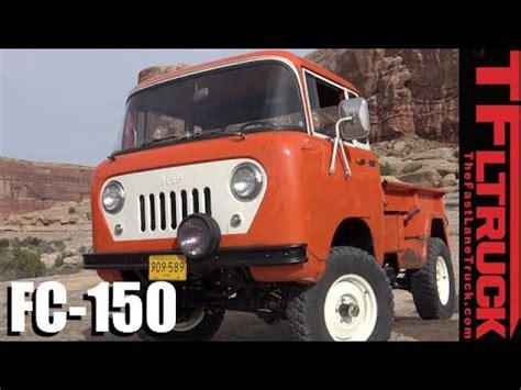 jeep forward control concept we drive the crazy cool forward control jeep fc 150