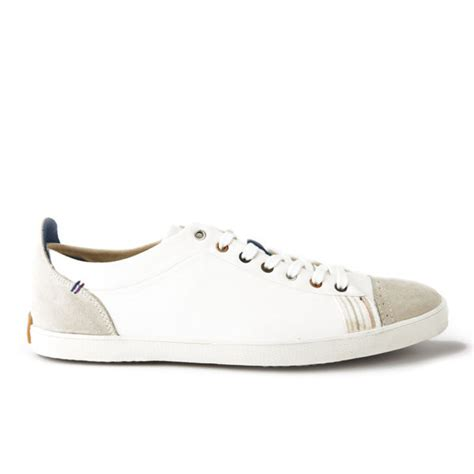 paul smith shoes s vestri vulcanised canvas trainers