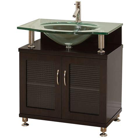 Glass Vanity Countertop by Glass Countertop Accara 30 Quot Bathroom Vanity Doors Only