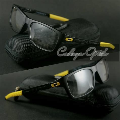 Grosir Frame Pria Oakley Currency frame kacamata oakley currency vr 46 black yellow pusat