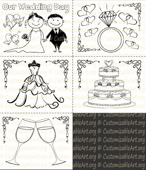 wedding coloring and activity book wedding coloring book kids printable wedding activity book