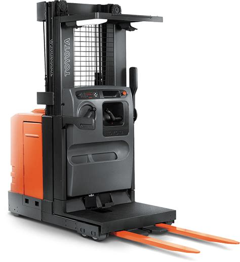 6 series electric order picker toyota forklifts